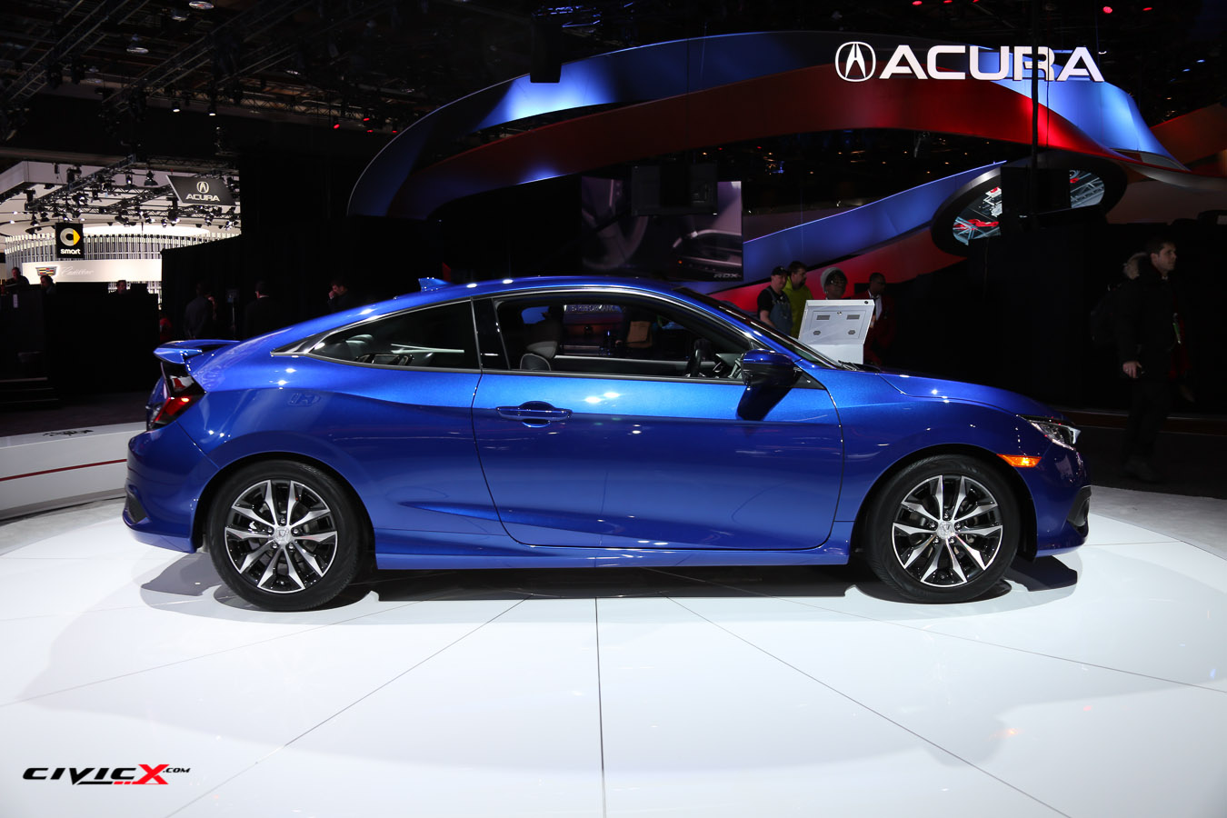 2016 Civic Coupe (Aegean Blue) - Detroit Auto Show-3.jpg