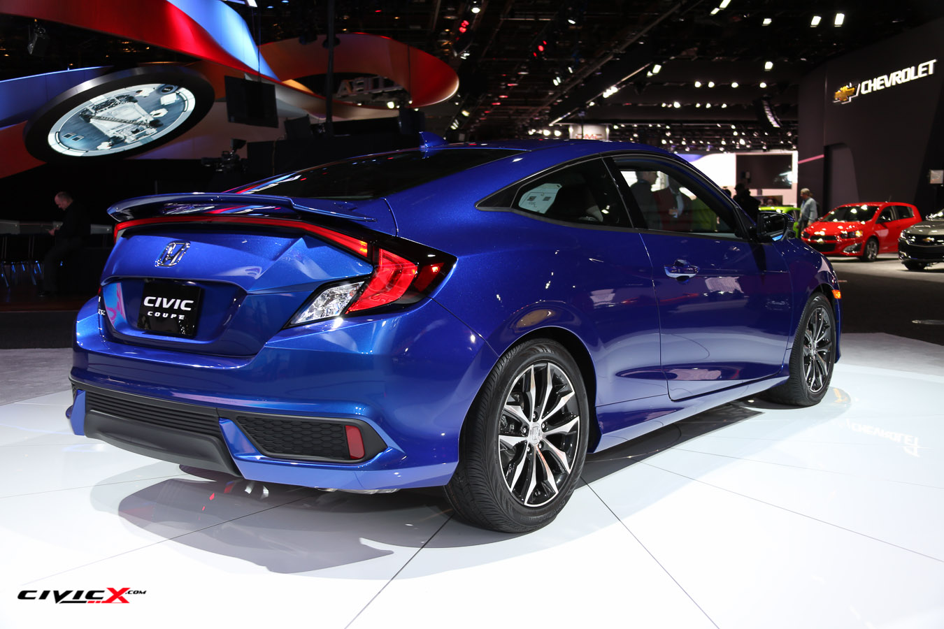 2016 Civic Coupe (Aegean Blue) - Detroit Auto Show-5.jpg
