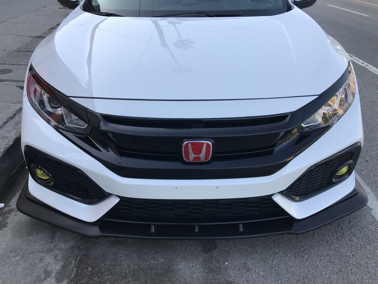 New Ikon Front Lip For 17 18 Civic Hatchback And Si Page 6 2016 Honda Civic Forum 10th Gen Type R Forum Si Forum Civicx Com