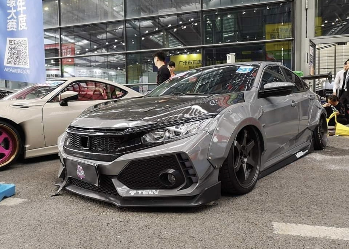 kit widebody civic honda finally affordable gen si 10th kits civicx