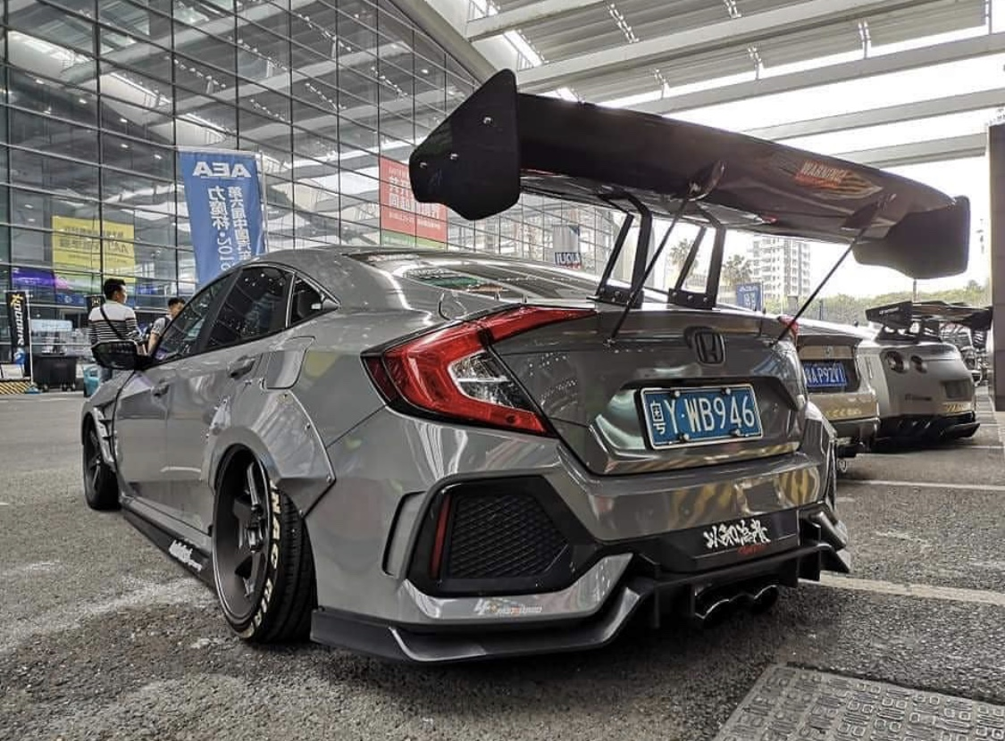 Finally An Affordable Widebody Kit 2016 Honda Civic Forum 10th Gen Type R Forum Si Forum Civicx Com