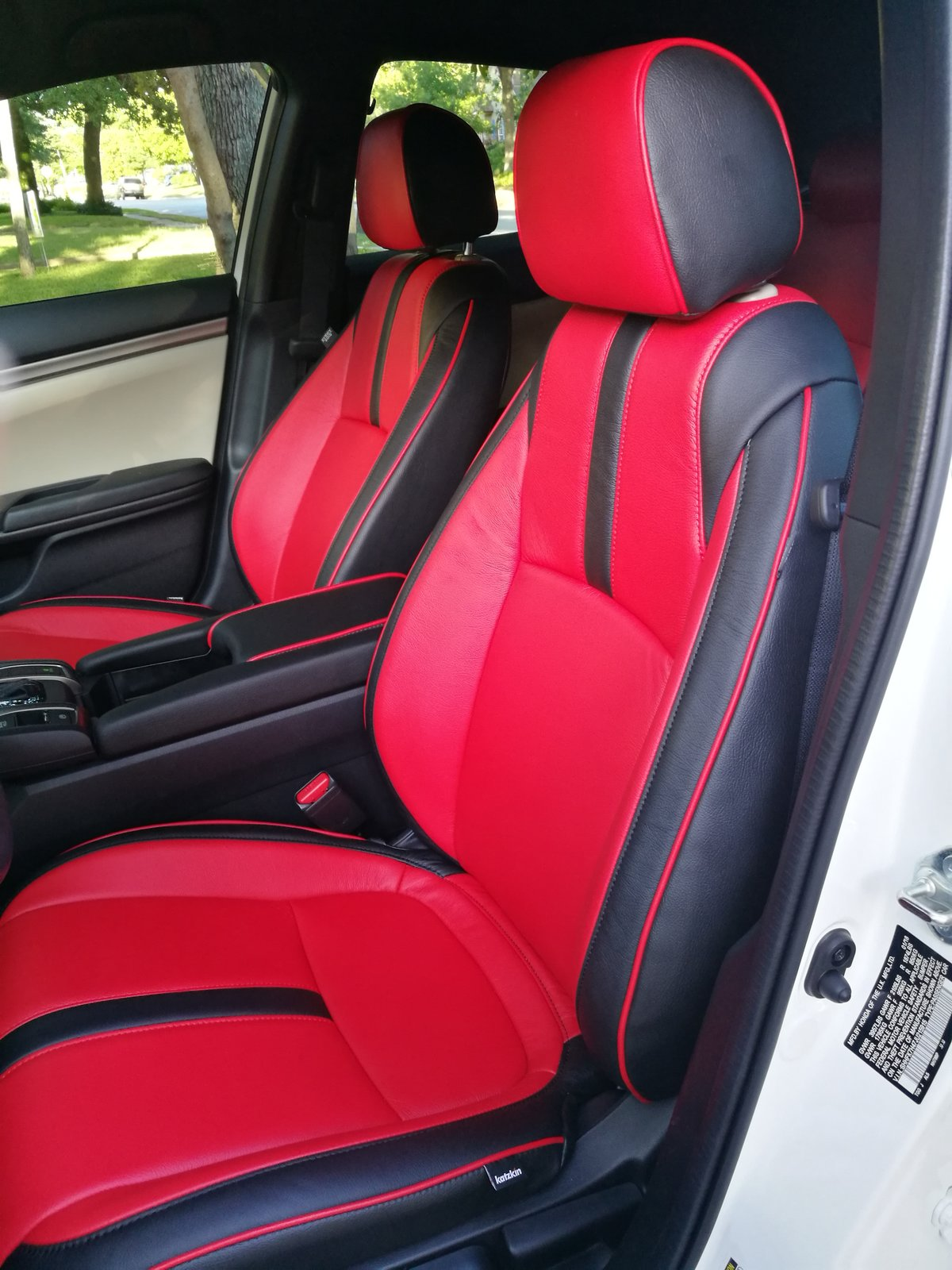 Leather Seat Covers 2016 Honda Civic Forum 10th Gen Type R Forum Si Forum Civicx Com