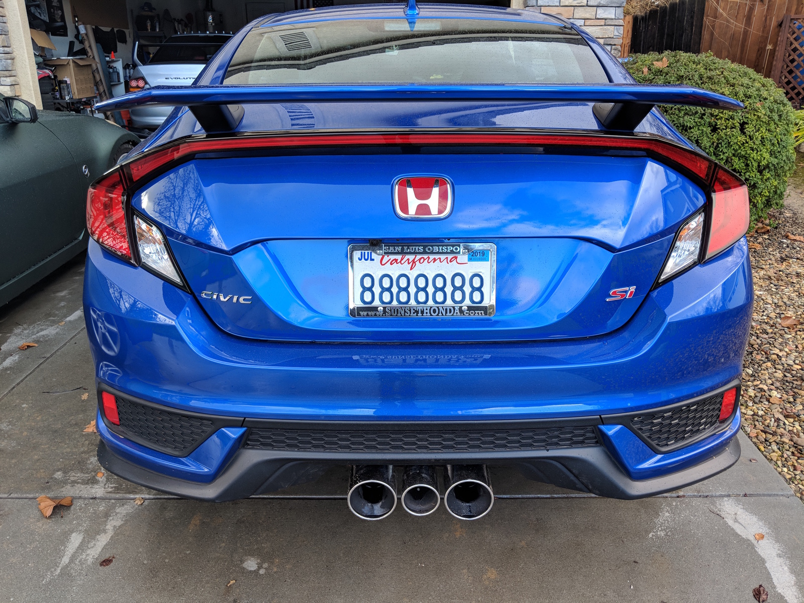 Factory Fk8 Type R Exhaust Installed On Civic Si Coupe 2016 Honda Civic Forum 10th Gen Type R Forum Si Forum Civicx Com